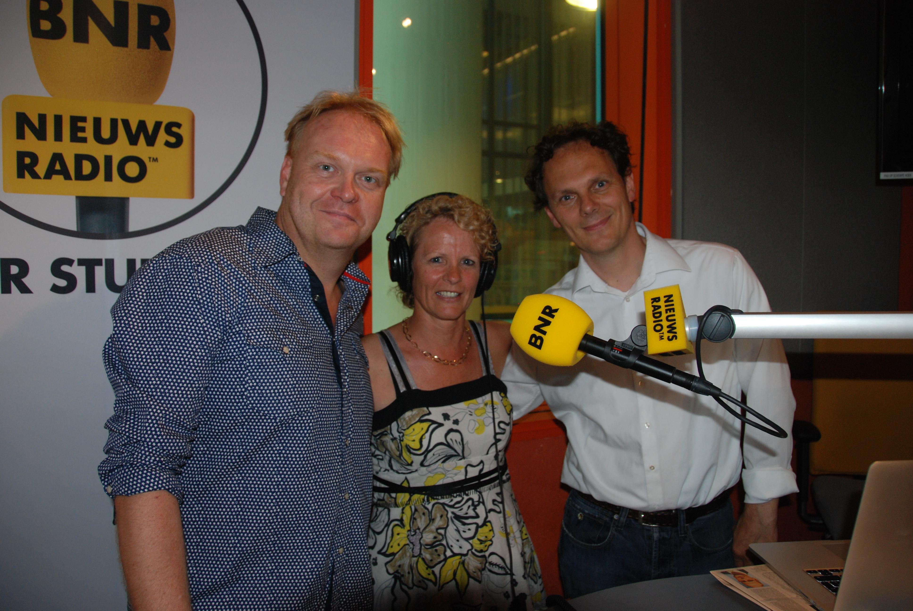 Tineke Rensen bij BNR nieuwsradio