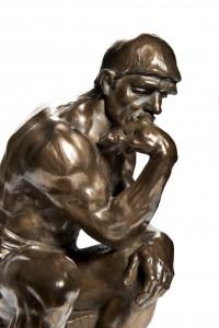 Rodin's Thinker 9494