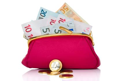 portemonaie met geld